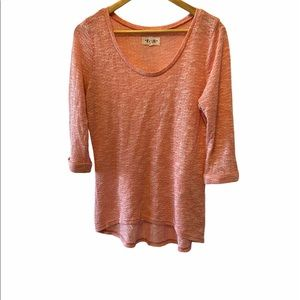 NEW LOOK Coral Lightweight Loose Knit Sweater